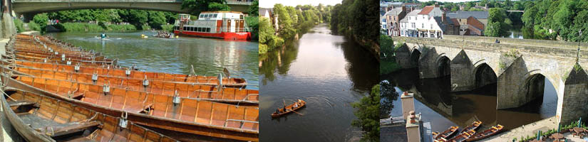 rowing in Durham with Browns Boats